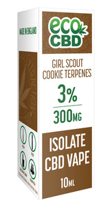 CBD Isolate Girl Scout Cookies 300mg