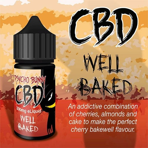 Well Baked CBD Eliquid by Psycho Bunny