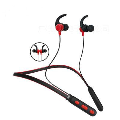 Magnetic Stereo Wireless Bluetooth Headphone with Wi-Fi Microphone