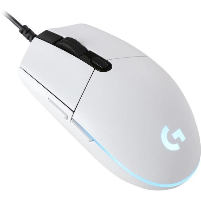 Logitech G203 Prodigy Gaming Mouse White