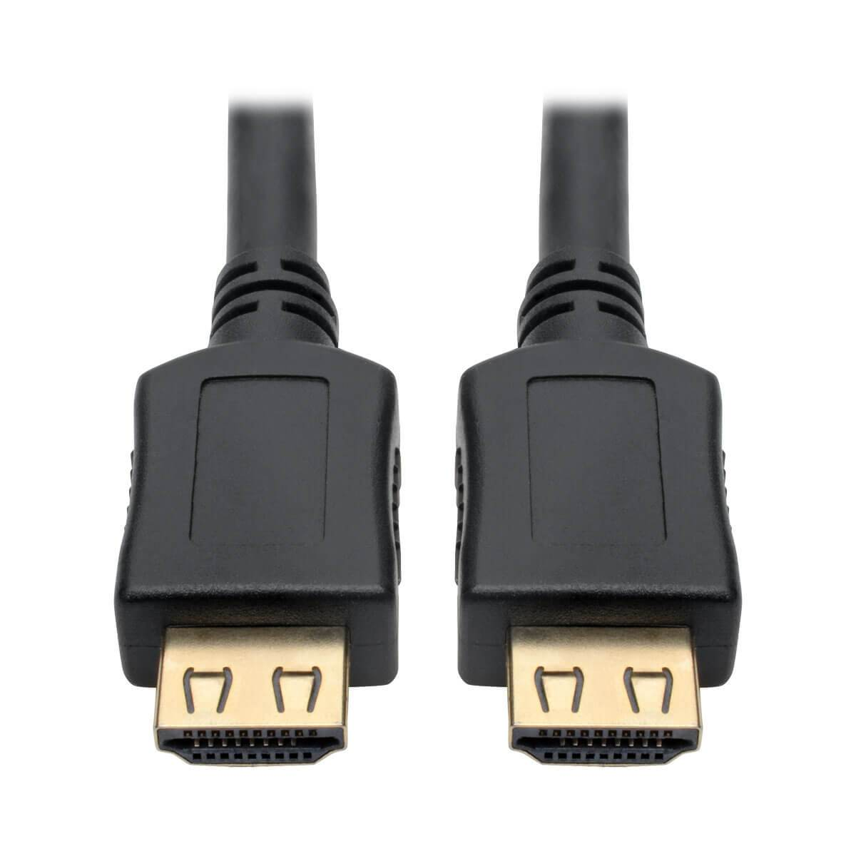 Tripp Lite High-Speed HDMI Cable w- Gripping Connectors 4K M-M Black 6ft 6'
