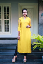 Paris Yellow Kurti