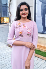 Paris Blush Pink Kurtha