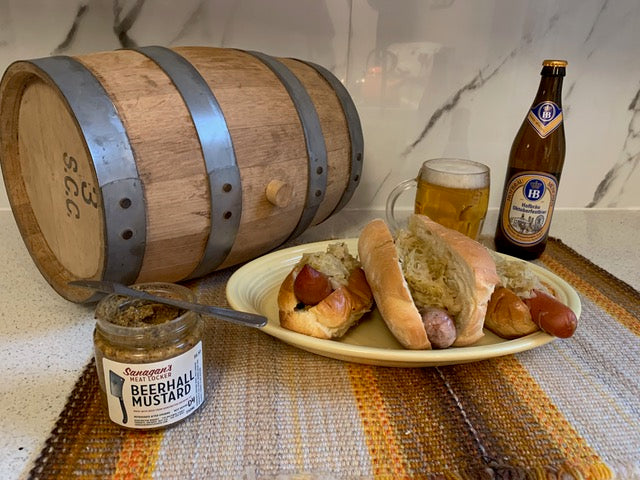 OktoberBest - Sauerkraut and Sausage at Home