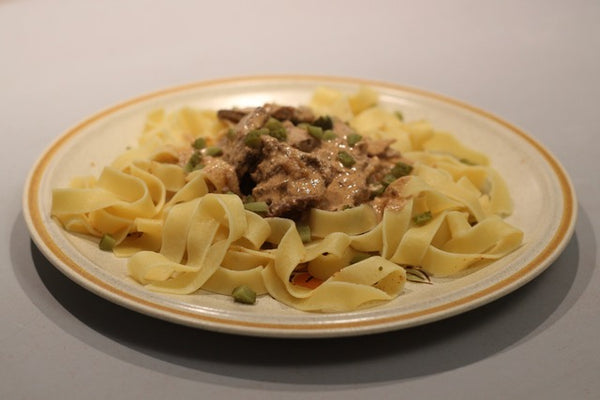 Right-On Stroganoff