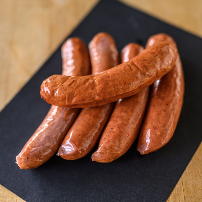 HOT BEEF SAUSAGES