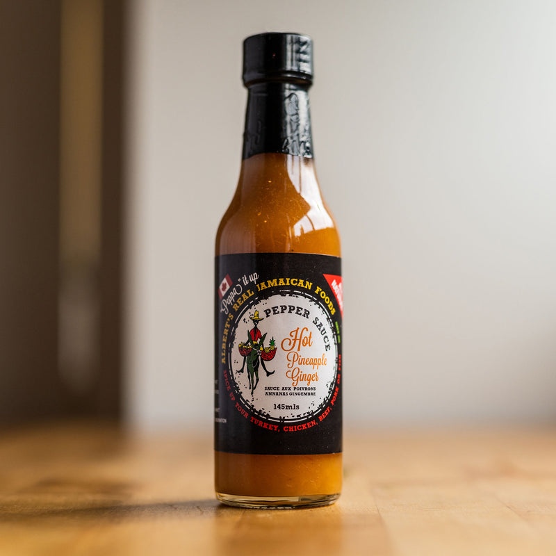 ALBERT'S REAL JAMAICAN PINEAPPLE GINGER PEPPER SAUCE