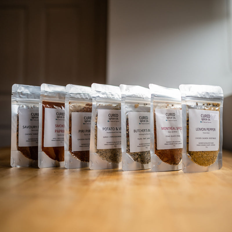 CURED SMOKEHOUSE SPICES