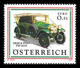 Autos - Gräf & Stift Typ 40/45