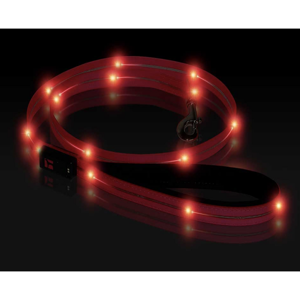 Ultrahund Pink LED Waterproof Leash