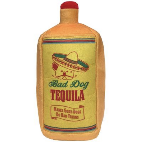 Bad Dog Tequila Pet Toy