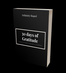 30 Day Gratitude Journal ( Digital Download ONLY!)