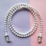 Simulated Pearl Mask Necklace *See Special Offer in Description*