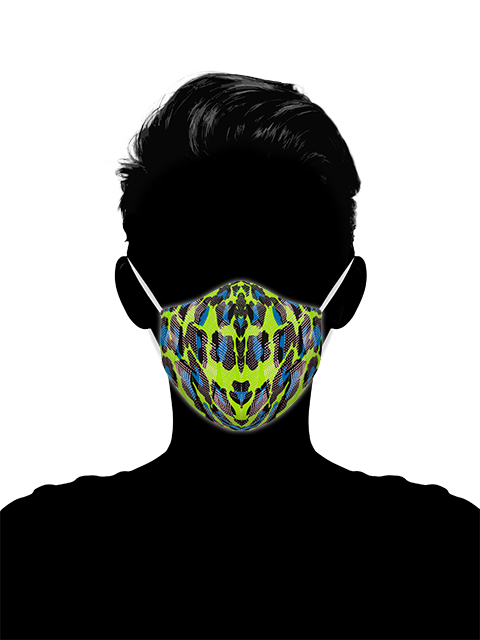Neon Jaguar - Face Mask