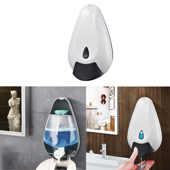 Wall Soap Dispenser with Adhesive Wall Mount