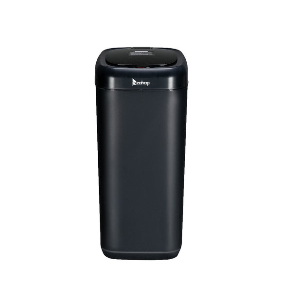 Black Motion Sensor Trash Can