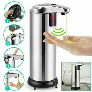 Stainless Steel Smart Sensor Touchless Soap Liquid Dispenser