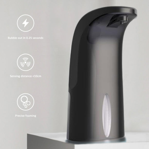 Touchless 300 ml Capacity in Black and White