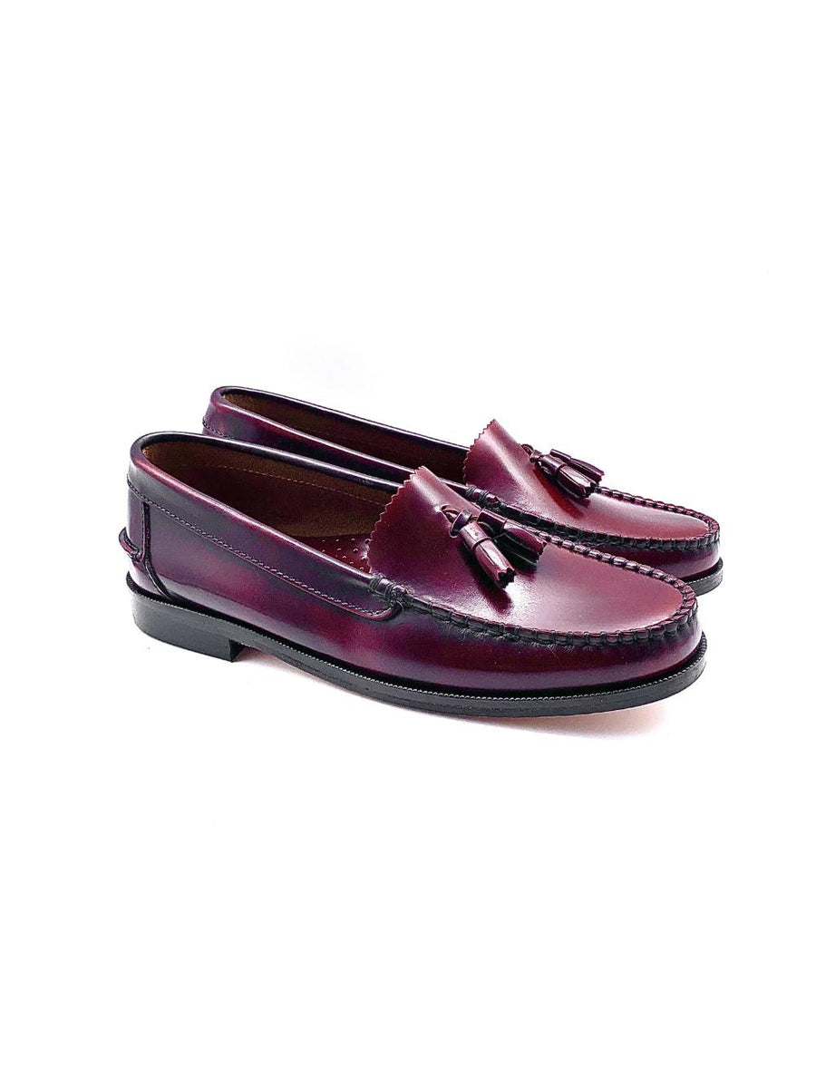 Damenschuh College Q - Brushleder Bordeaux-Roberto & Son's