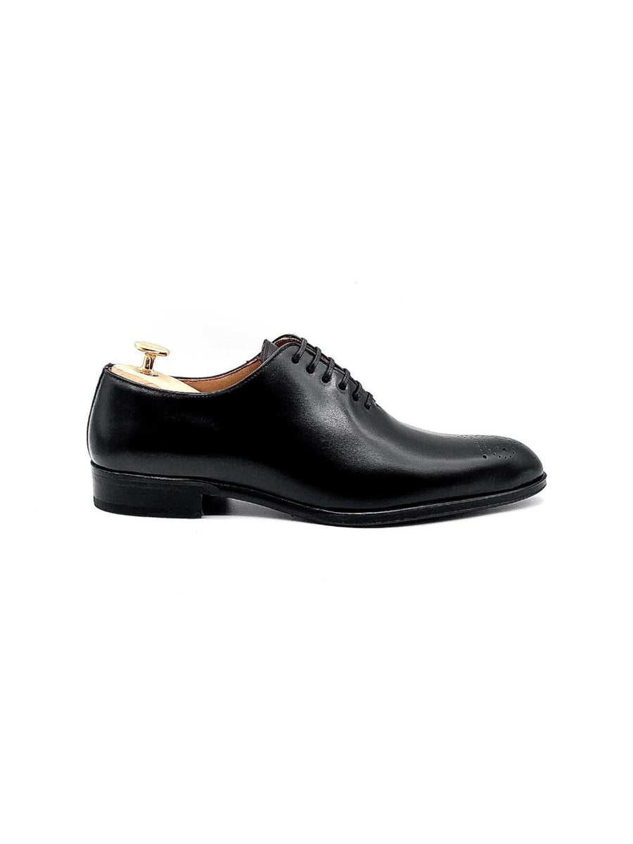 Herrenschuh Portici- Boxcalf Black-Roberto & Son's