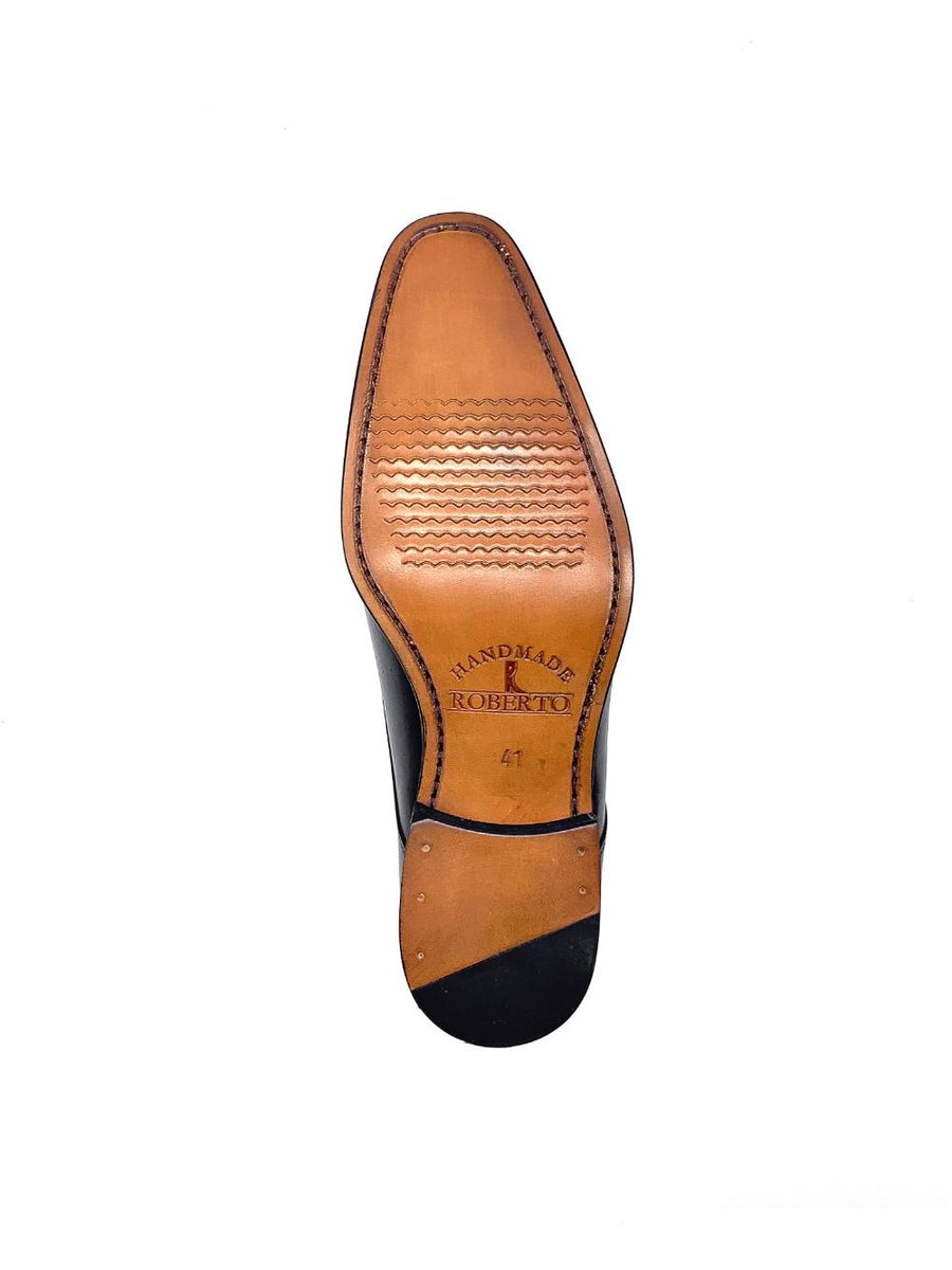 Herrenschuh Livorno - Brushleder Bordeaux