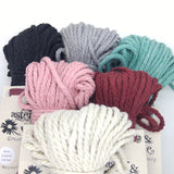 Aster & Vine Recycled Cotton Rope - 4 mm