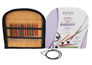 Knitter's Pride Dreamz Interchangeable Special Needle Set - 16