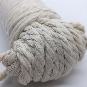 Aster & Vine Recycled Cotton Rope - 5 mm