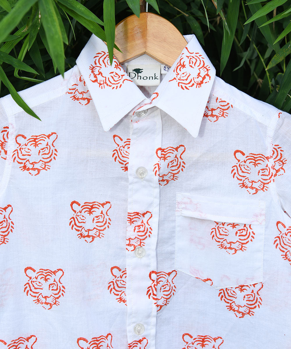 Dhonk Exclusive Shirt - Tiger Face