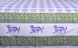 Snowflakes Queen Size Bed Cover