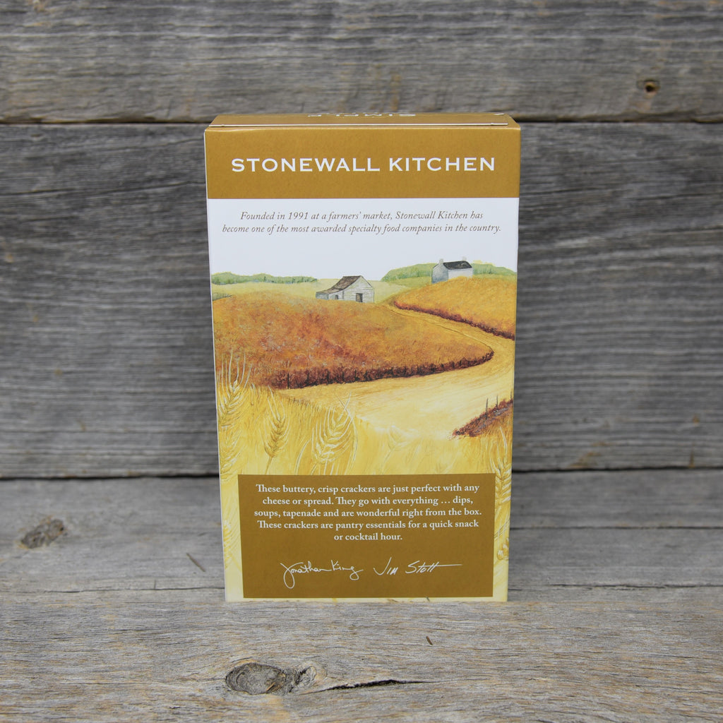 Stonewall Kitchen Simple White Down East Crackers