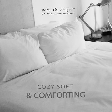 BedVoyage eco-melange Rayon Bamboo Cotton Duvet Covers