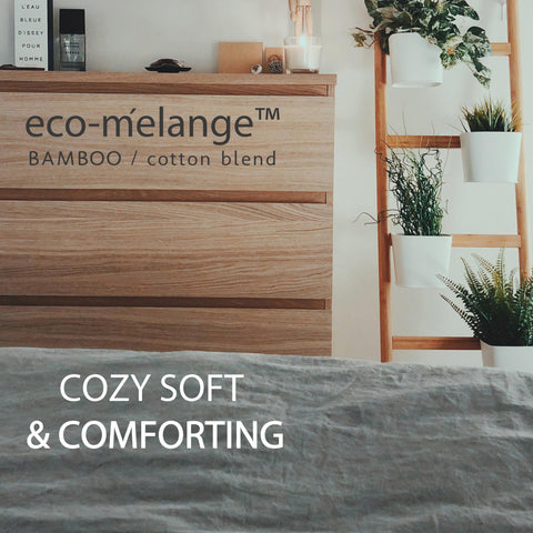 BedVoyage eco-melange Rayon Bamboo Cotton Duvet Bed Sets