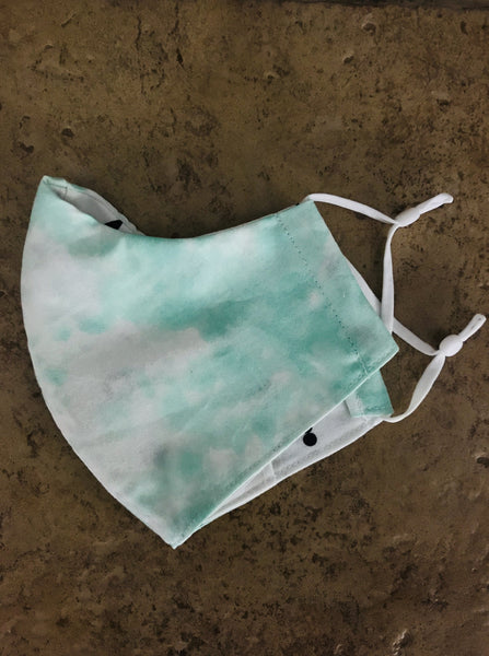 Pastel Emerald River Mask
