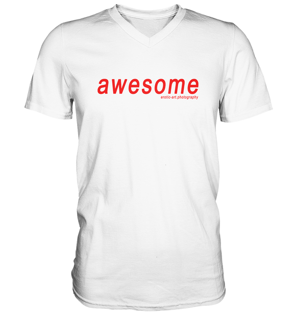 awesome - Mens V-Neck Shirt