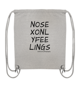 No Sex Only Feelings - Organic Gym-Bag
