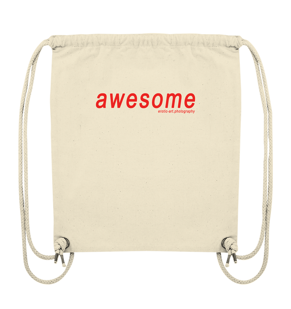 awesome - Organic Gym-Bag