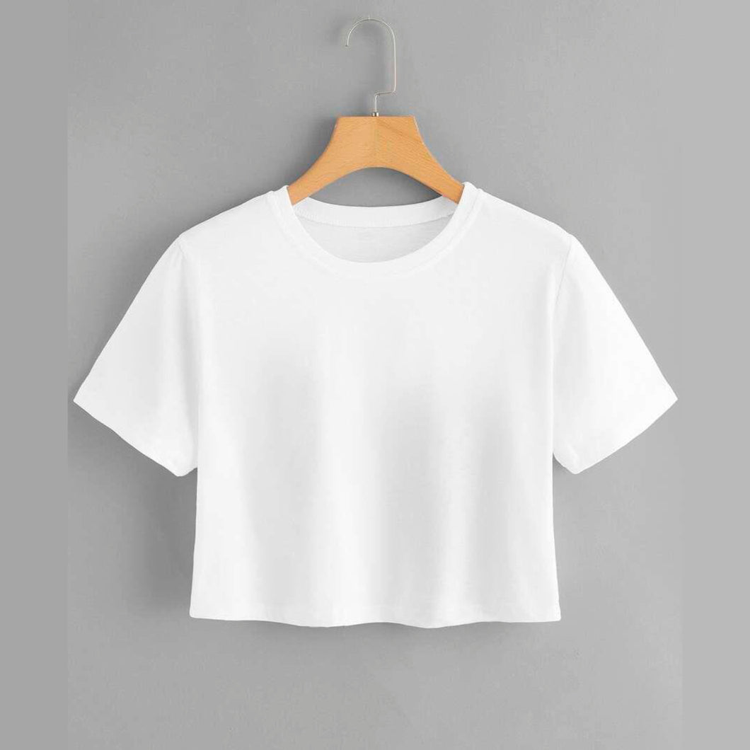 Crop Top T Shirt | Dnias Apparel®
