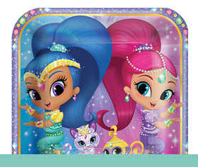 Shimmer and Shine Genie party