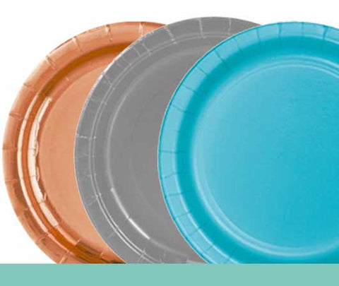 Plain Coloured Plates