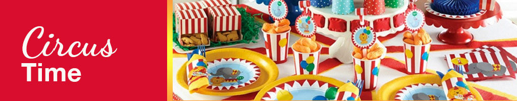 Circus Party Theme for Toddlers