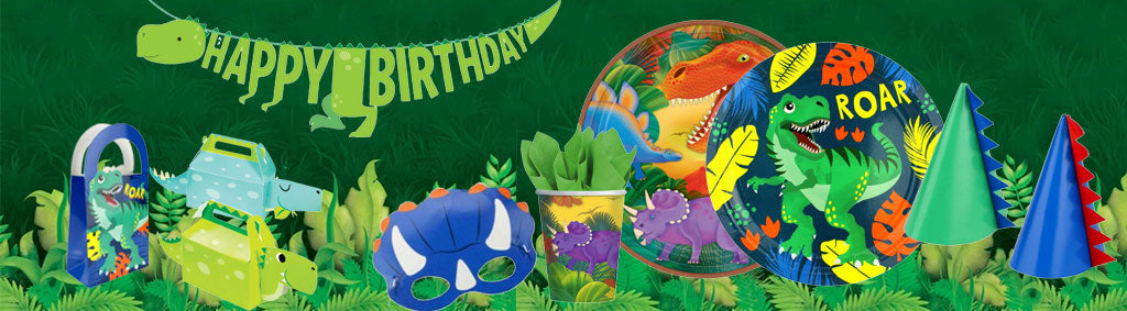 Dinosaur party Supplies Decorations | NZ