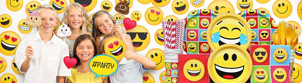 Emoji PArty Supplies NZ