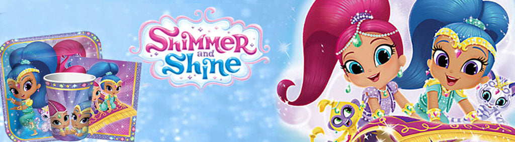 Shimmer and Shine Genie Party Theme NZ