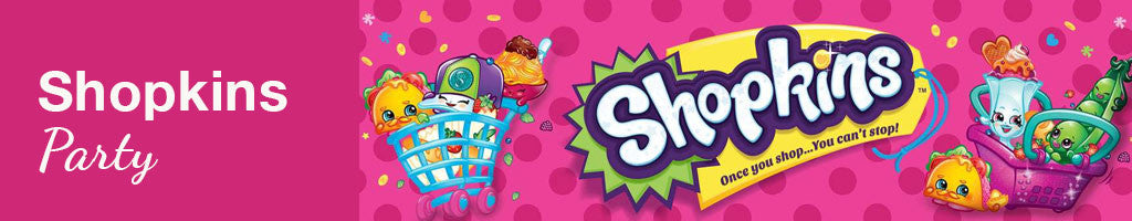 Shopkins Party Supplies NZ