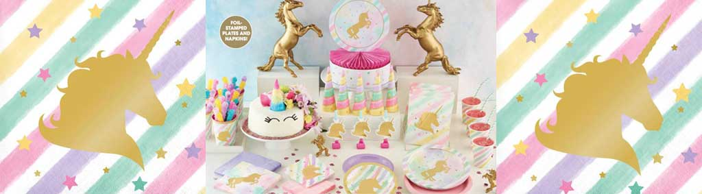 Unicorn Sparkle Party theme for Girls