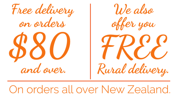 Free Delivery on orders over $80