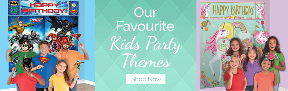 kids party themes NZ