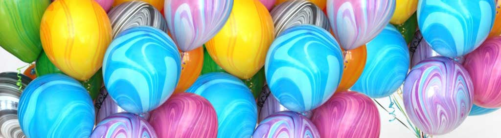 Marble Latex Party Balloons