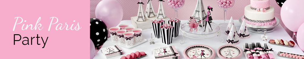 Pink Paris Party Theme